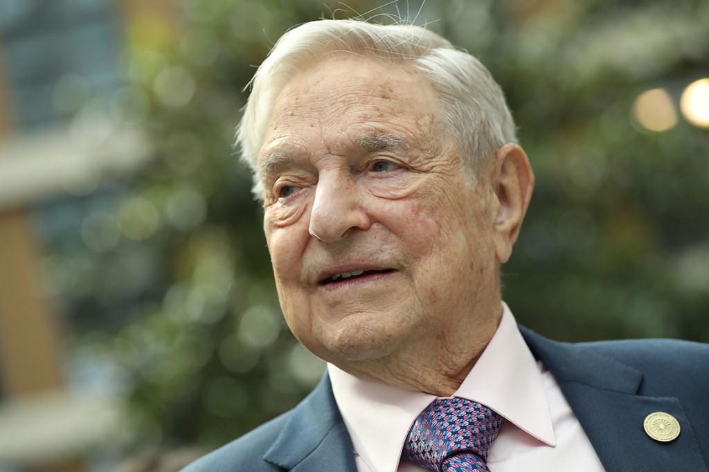 Financier and philanthropist George Soros. | Sean Gallup/Getty Images