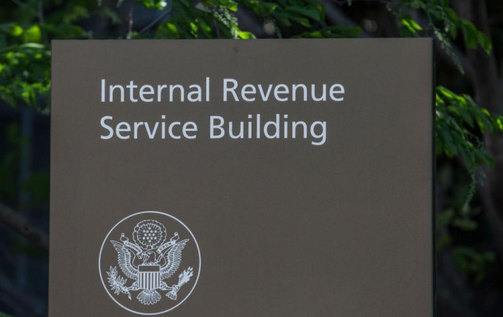 IRS Building Getty Images