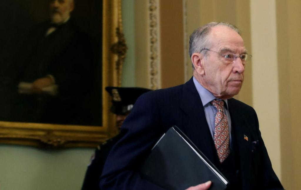Iowa Sen. Chuck Grassley on Capitol Hill Getty Images
