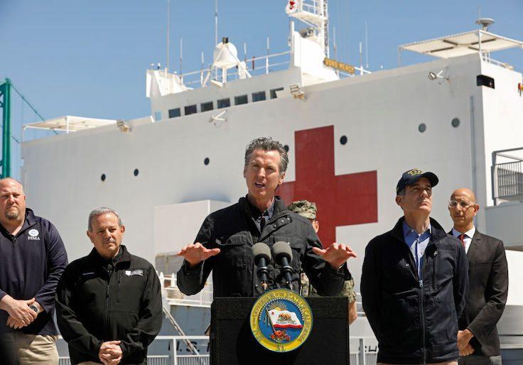 California governor Gavin Newsom / Getty Images