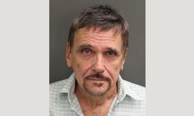 Orange County Jail mugshot of Florida defense attorney John Gillespie.