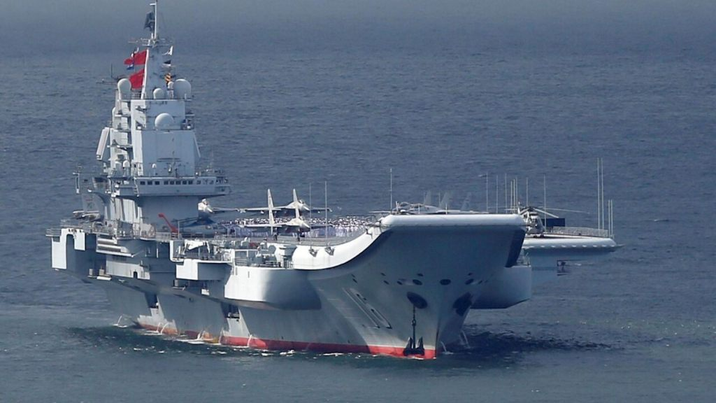 The Chinese aircraft carrier Liaoning (file picture) (Reuters)