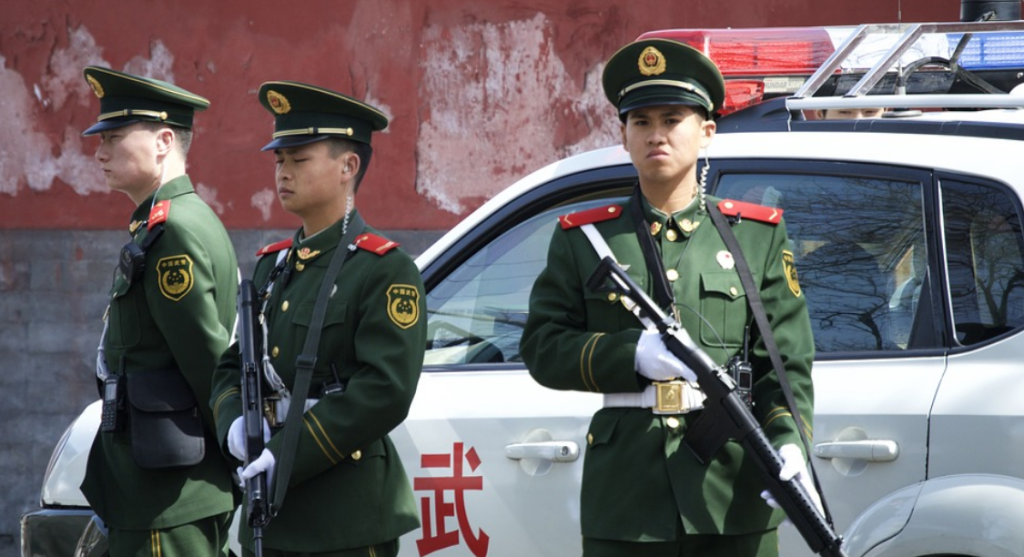 Police in China. (MaxPixel/Released)