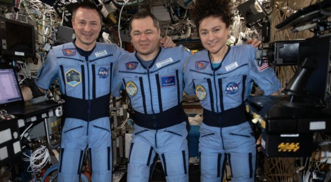 NASA astronauts Drew Morgan and Jessica Meir, along with Russian cosmonaut Oleg Skripochka returned to earth aboard Soyuz MS-15 on April 17, 2020.