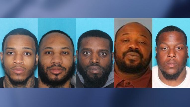 Five Philadelphia men have been charged in connection with a triple murder authorities say occurred in Virginia in May 2019. fox29.com