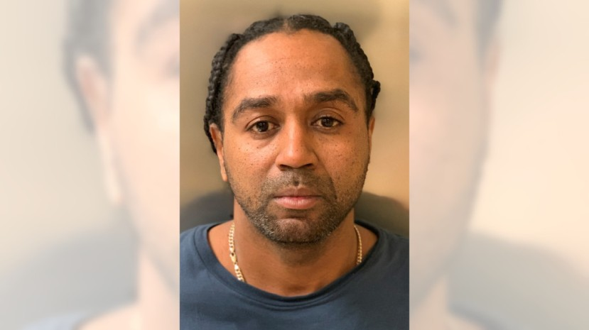 Maurice Dion Gamble of Riverside was arrested on suspicion of criminal threats, being a felon in possession of a firearm and possession of an assault rifle on Feb. 12, 2020.
