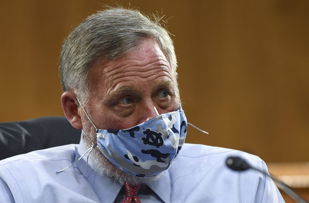 Sen. Richard Burr, R-N.C., listens to testimony before the Senate Committee for Health,