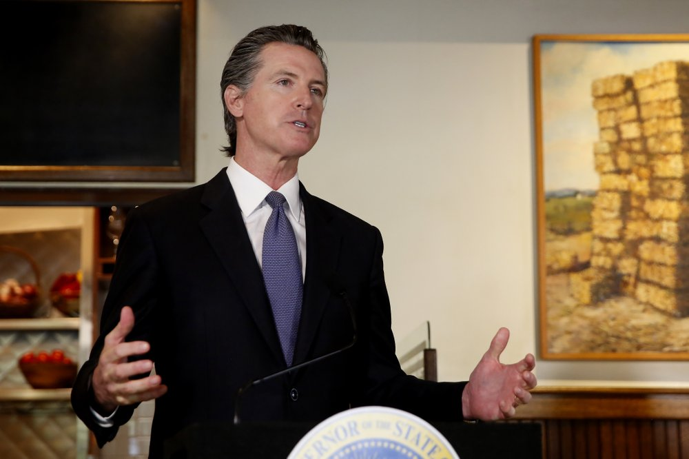 Gov. Gavin Newsom announces new criteria related to coronavirus ,