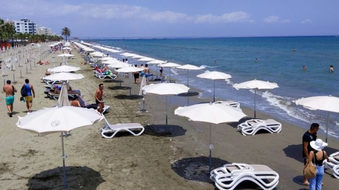 GETTY IMAGES Image caption Cyprus has recorded 939 confirmed cases of the virus and 17 deaths