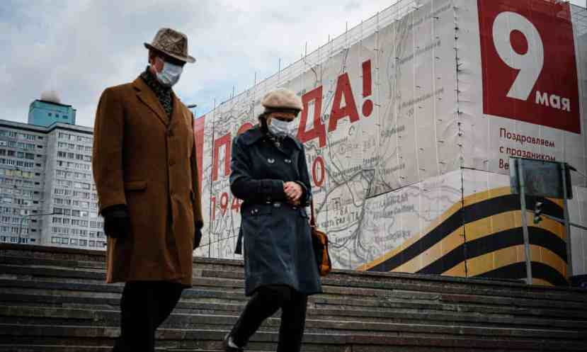 As it prepares for Victory Day celebrations on 9 May, Russia has become the European hotspot for coronavirus infections with Moscow particularly hard hit.