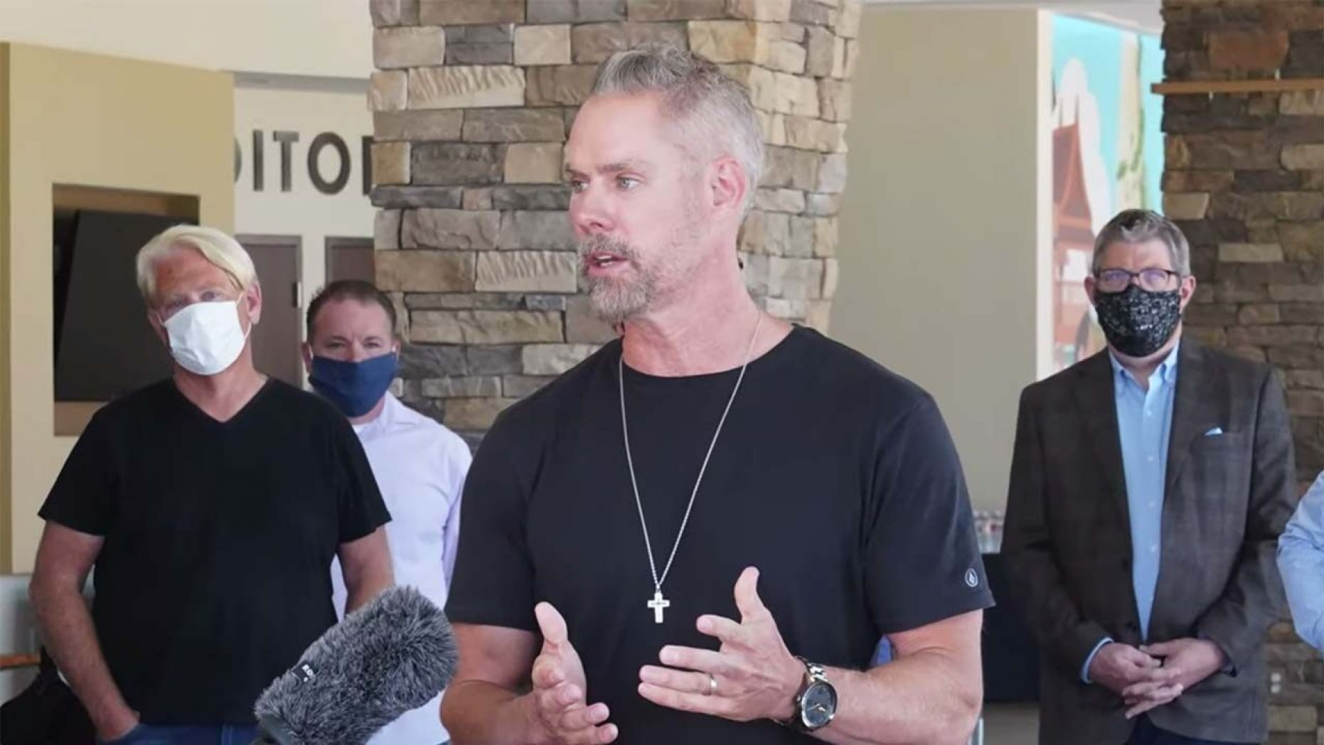 Matt Brown, pastor of Sandals Church in Riverside, blasted Newsom for deeming churches nonessential during the pandemic.