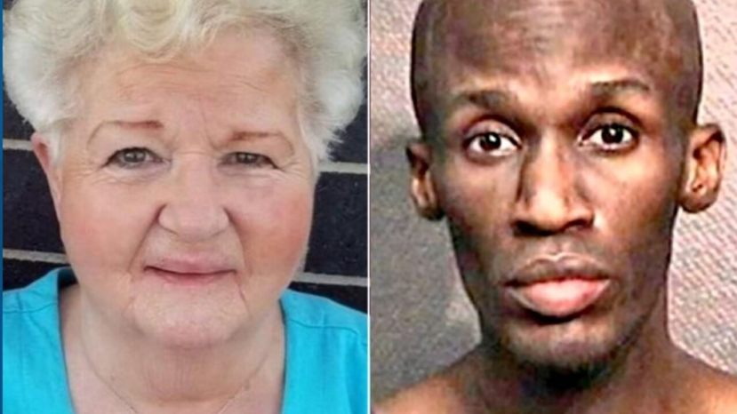 Police said Rosalie Cook, 80, was fatally stabbed in a Houston parking lot by 38-year-old Randy Roszell Lewis,