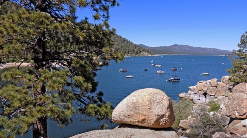 Big Bear Lake, a mountain resort town, has announced that it will stop communicating and enforcing the governor's stay-at-home order.