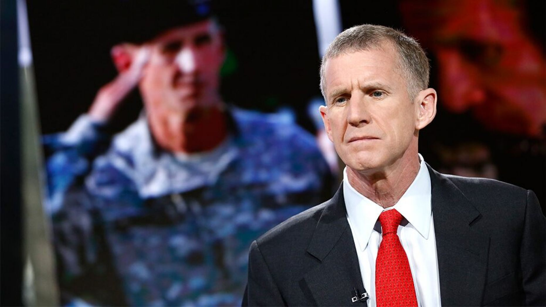 """TODAY -- Pictured: Gen. Stanley McChrystal appears on NBC News' """"Today"""" show"""