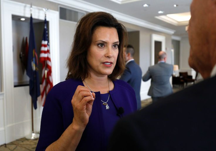 Michigan governor Gretchen Whitmer / Getty Images