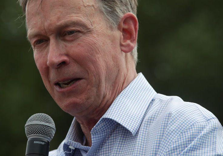 Former governor of Colorado John Hickenlooper / Getty Images