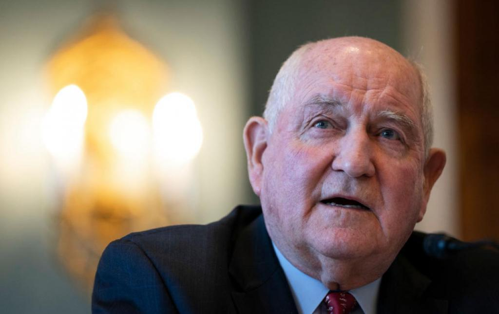 USDA Secretary Sonny Perdue (Drew Angerer/Getty)