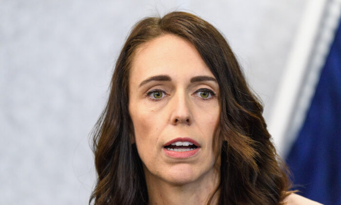 New Zealand Prime Minister Jacinda Ardern speaks to the media during a press conference at the Justice and Emergency Services precinct in Christchurch, New Zealand on March 13, 2020.