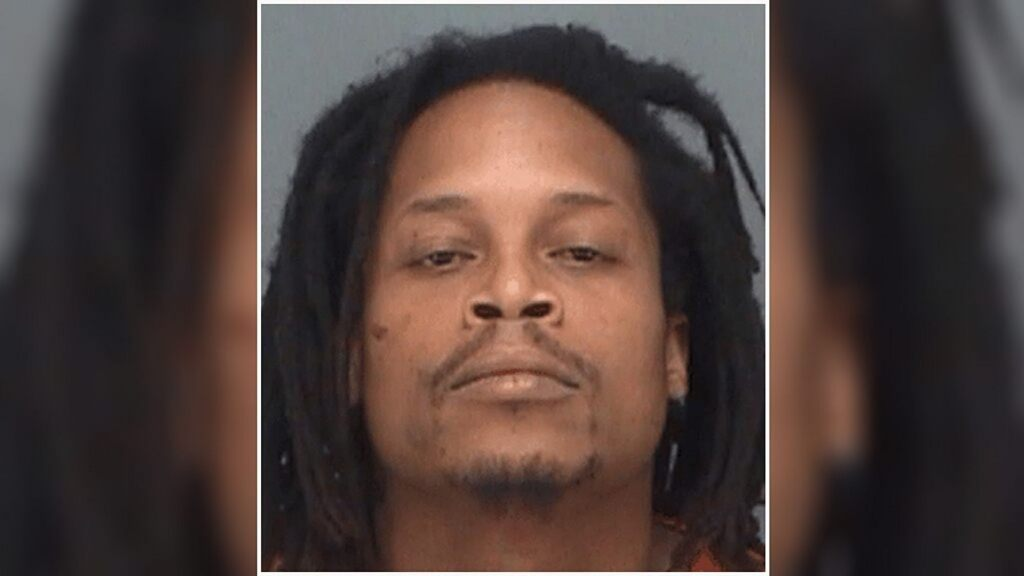James Jamal Curry faces up to 5 years in prison if convicted. (Pinellas County Sheriffs Office)