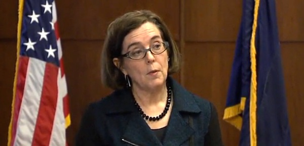 Gov. Kate Brown, D-Oregon