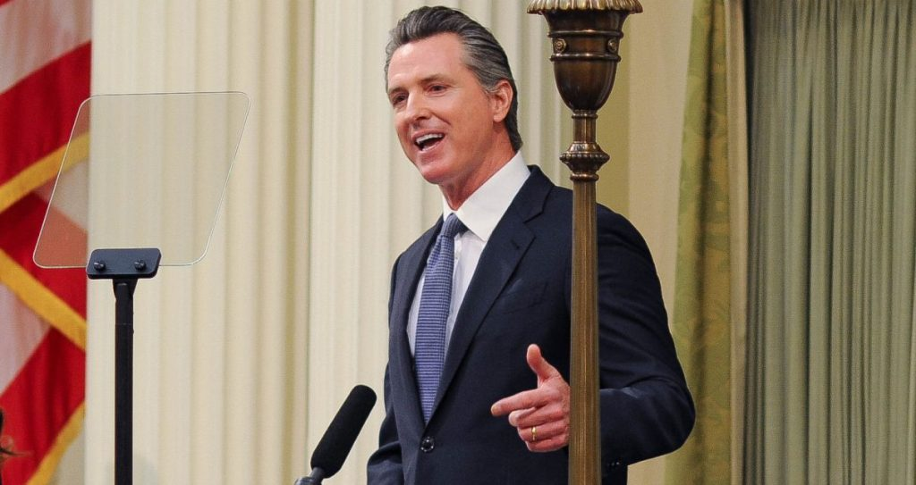 Governor Gavin Newsom. (Photo: Kevin Sanders for California Globe)