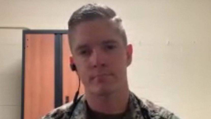 "U.S. Marine Corps Capt. Daniel Kult joined ""America's Newsroom"" Friday to discuss his role in helping to detain a disruptive airline passenger, for which he has been hailed as a hero."