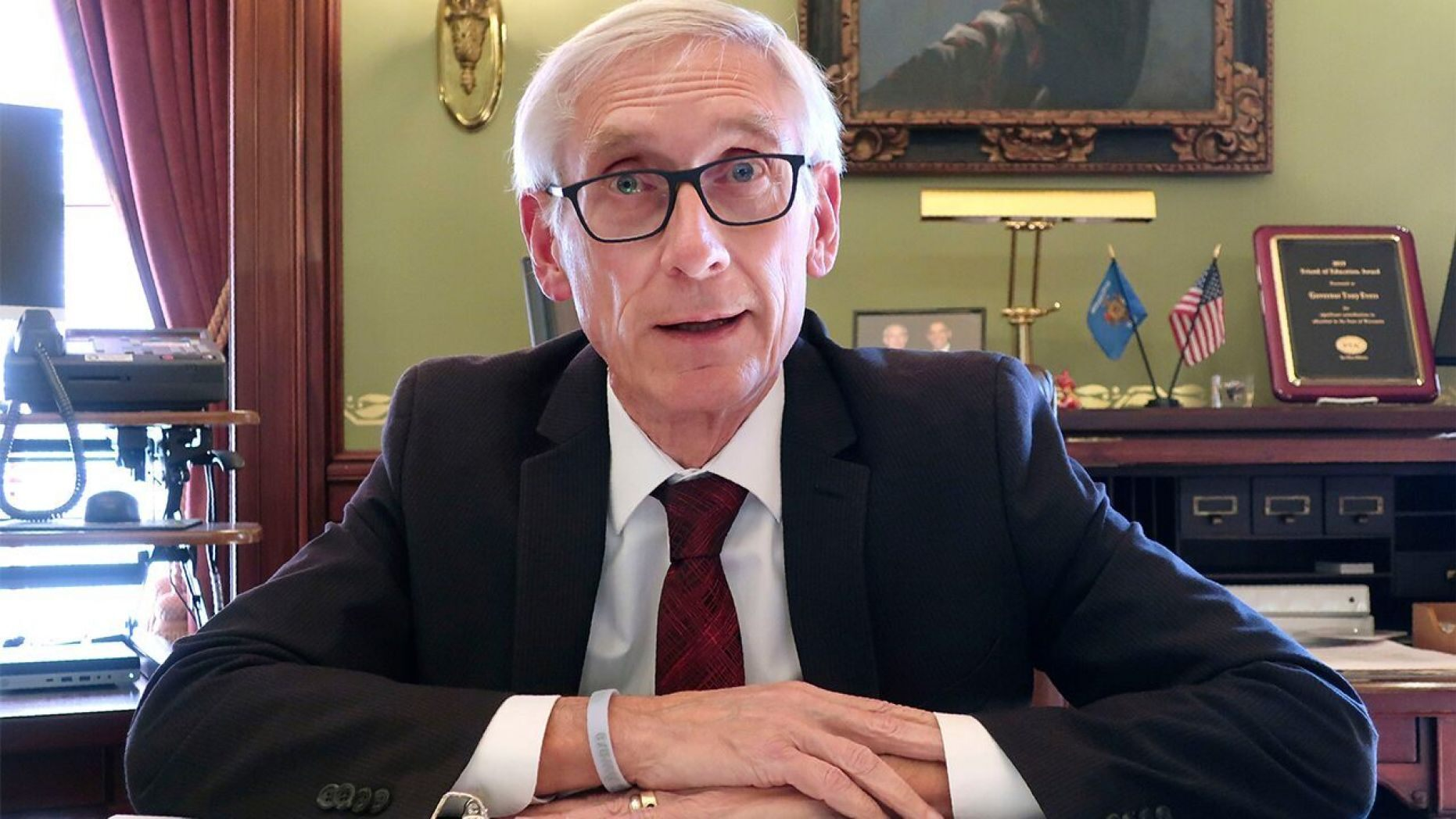 Wisconsin's Republican-led Legislature blocked efforts by Wisconsin Gov. Tony Evers to reinstitute statewide coronavirus restrictions,