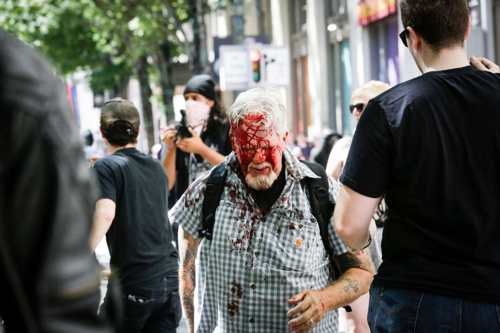 A common tactic used by Antifa in the United States and Europe is to employ extreme violence and destruction of public and private property to goad the police into a reaction,