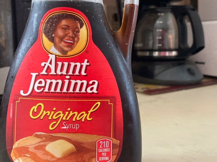 "Aunt Jemima's great-grandson says ""retiring"" racially charged brand erases his family legacy, and America's ugly history of profiting on slave imagery."