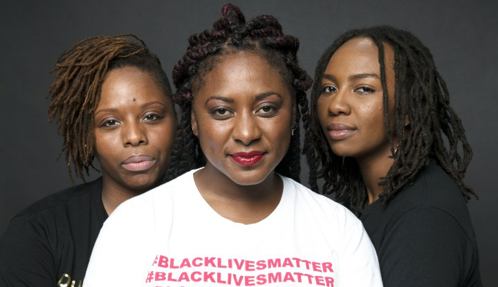 Alicia Garza, Patrisse Cullors, and Opal Tometi — the founders of BLM (Photo source: BlackLivesMatter.com)