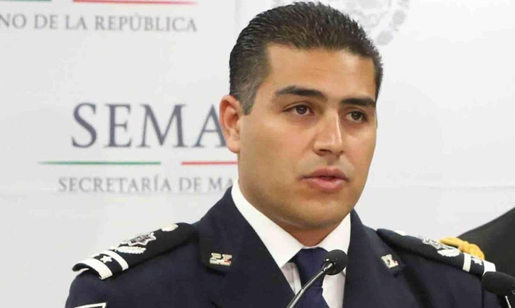 Mexico City police chief Omar Garcia Harfuch, via Especial