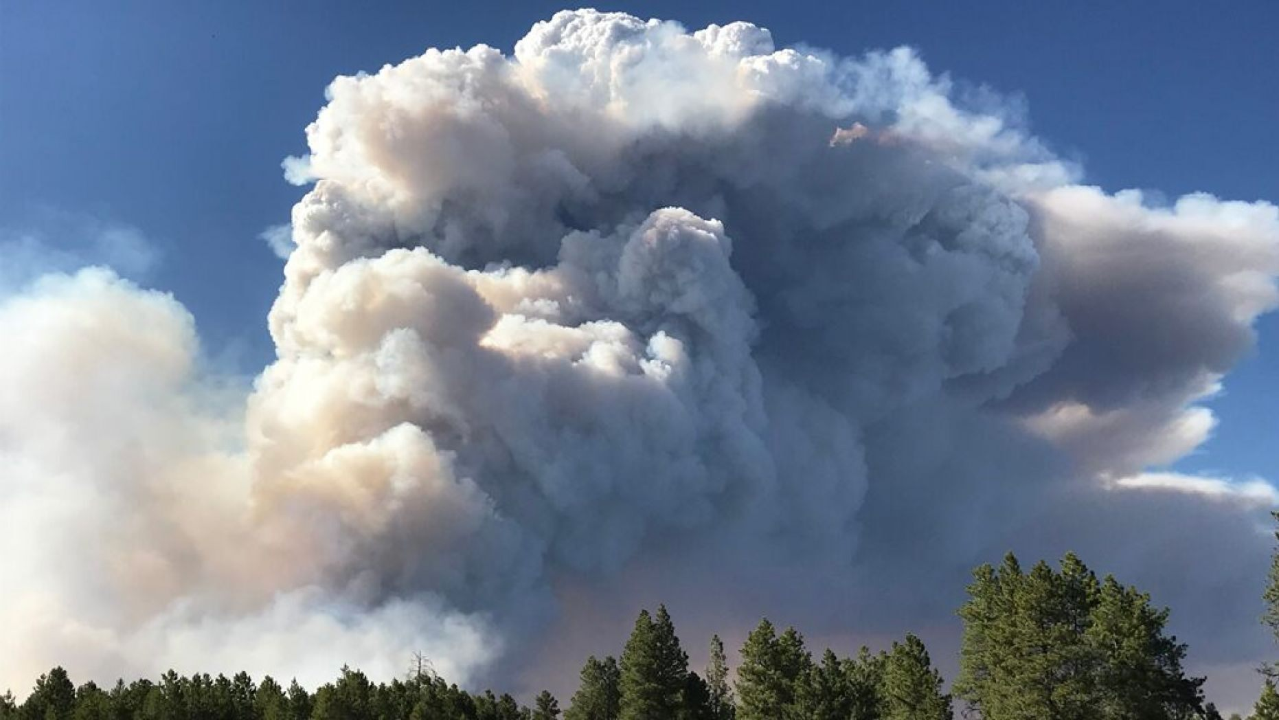 The Magnum Fire burning in northern Arizona has forced the closure of the North Rim of the Grand Canyon National Park.