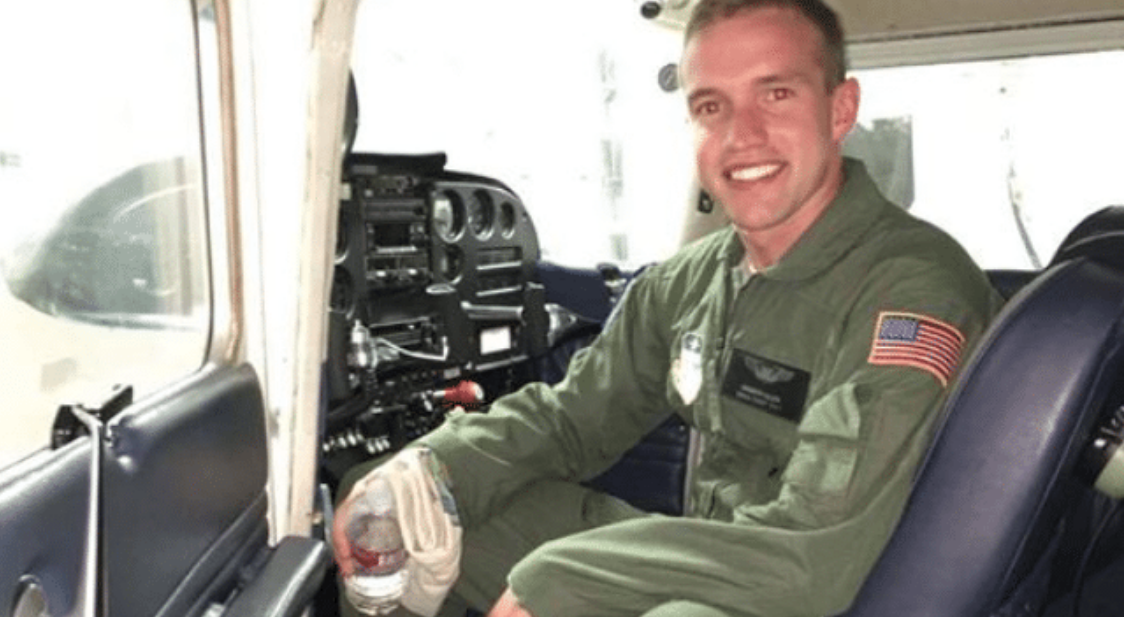 1st Lt. Kenneth Allen, assistant chief of weapons and tactics for the 493rd Fighter Squadron, who died in an F-15 fighter jet crash near RAF Lakenheath on June 15, 2020.