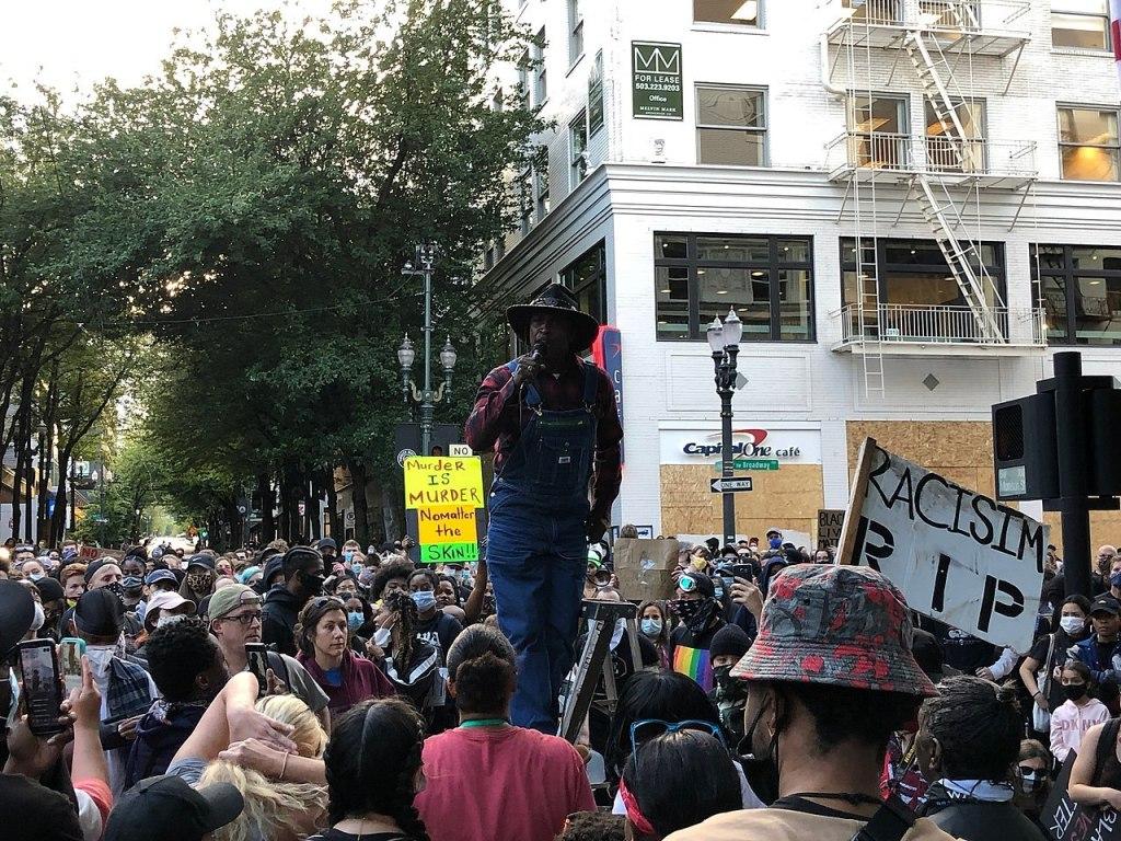 Recent demonstrations in Portland, Oregon have grown violent.