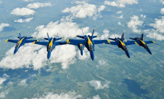 Photo: U.S. Navy Blue Angels