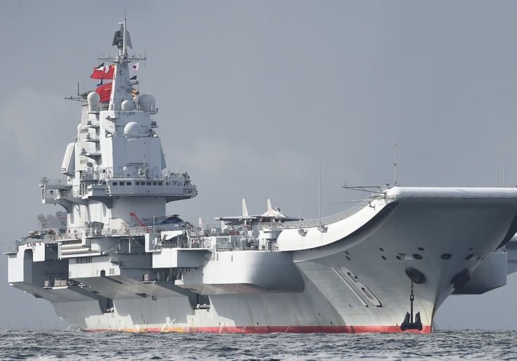 Liaoning, a Chinese Type 001 aircraft carrier / Getty Images
