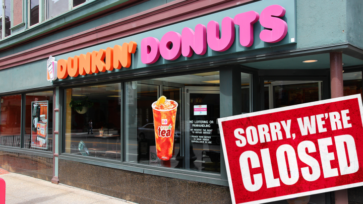 Before the closure announcement, Dunkin' had been making moves to expand its brand and offerings. (iStock)