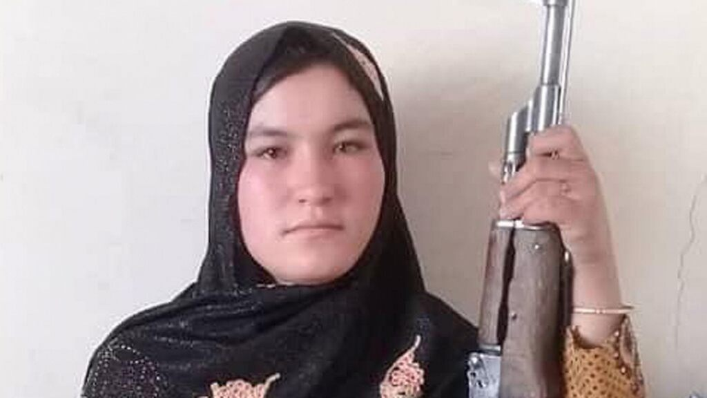 Qamar Gul reportedly used an AK-47 to kill two Taliban militants.