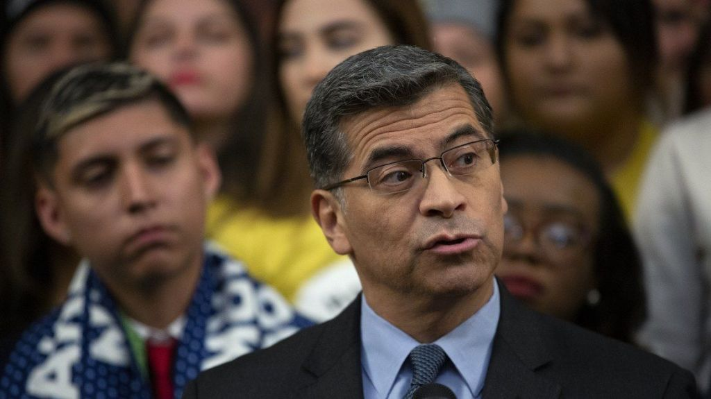 California Attorney General Xavier Becerra (Stefani Reynolds - CNP/Sipa USA/Newscom)