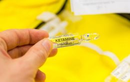 Ketamine has become popular as a recreational drug (file picture)