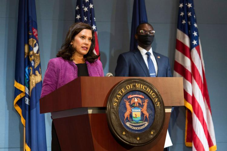 Gov. Gretchen Whitmer declares racism a public health crisis on August 5, 2020.   Image courtesy of Gov. Whitmer's office