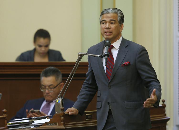 Assemblyman Rob Bonta, D-Alameda  Rich Pedroncelli / AP file photo