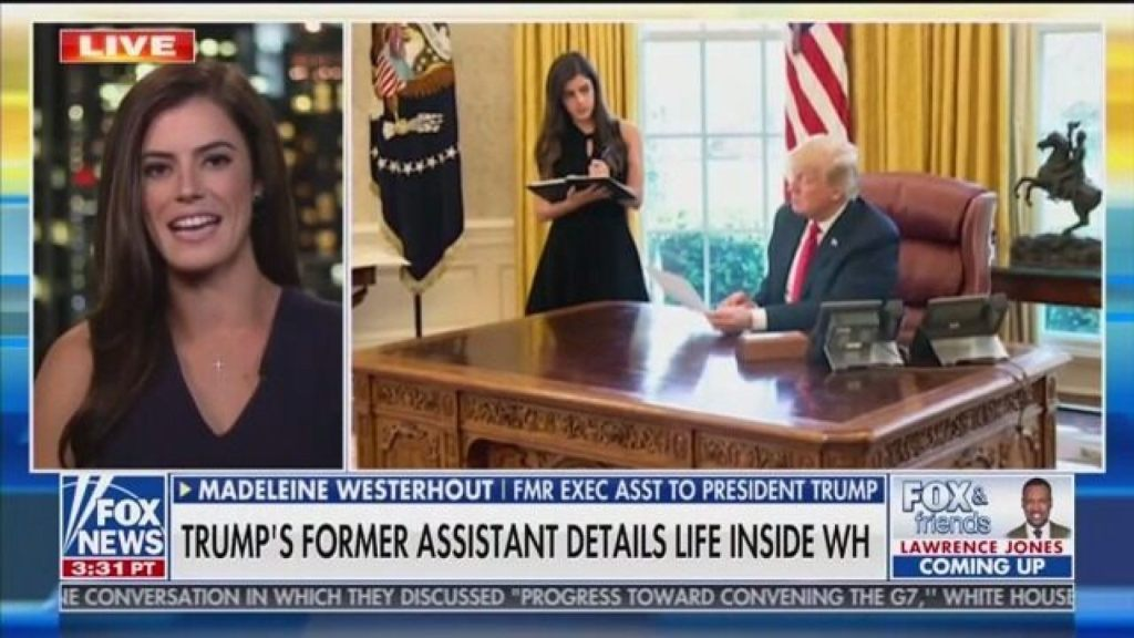Madeleine Westerhout, former personal secretary to President Trump and author of the new book 'Off the Record,'