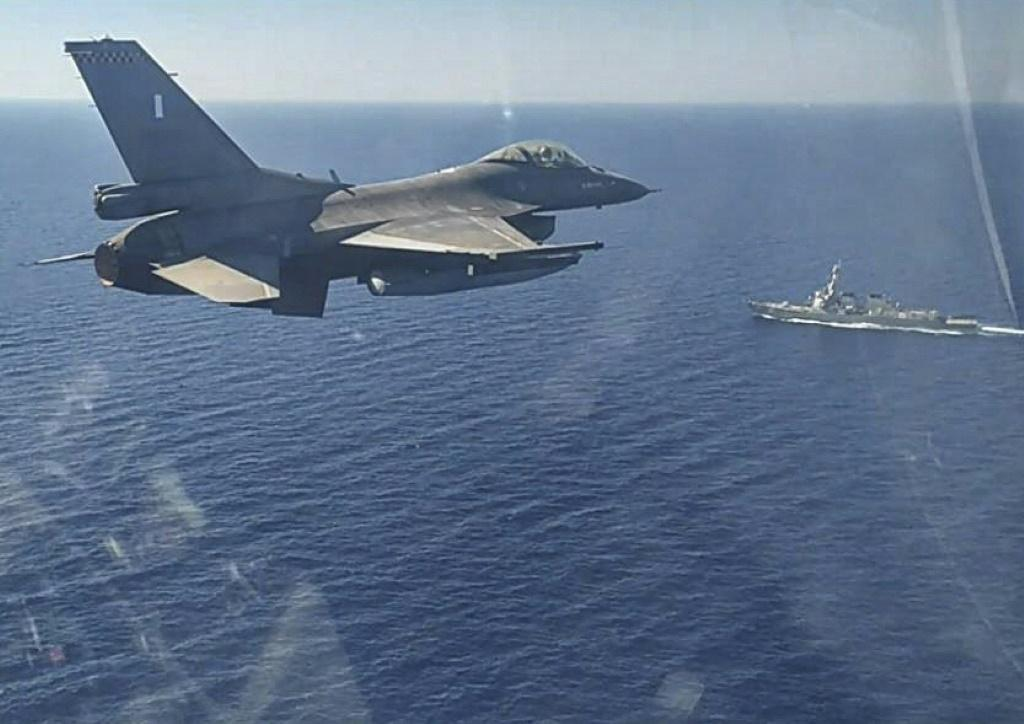 Greek Navy aircraft and ships have been manoeuvering close to their Turkish opposite numbers.