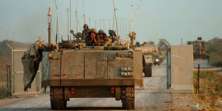 IDF forces exit the Gaza Strip as part of Operation Last Dawn, the final stage of the Gaza Disengagement, which occurred in the summer of 2005.