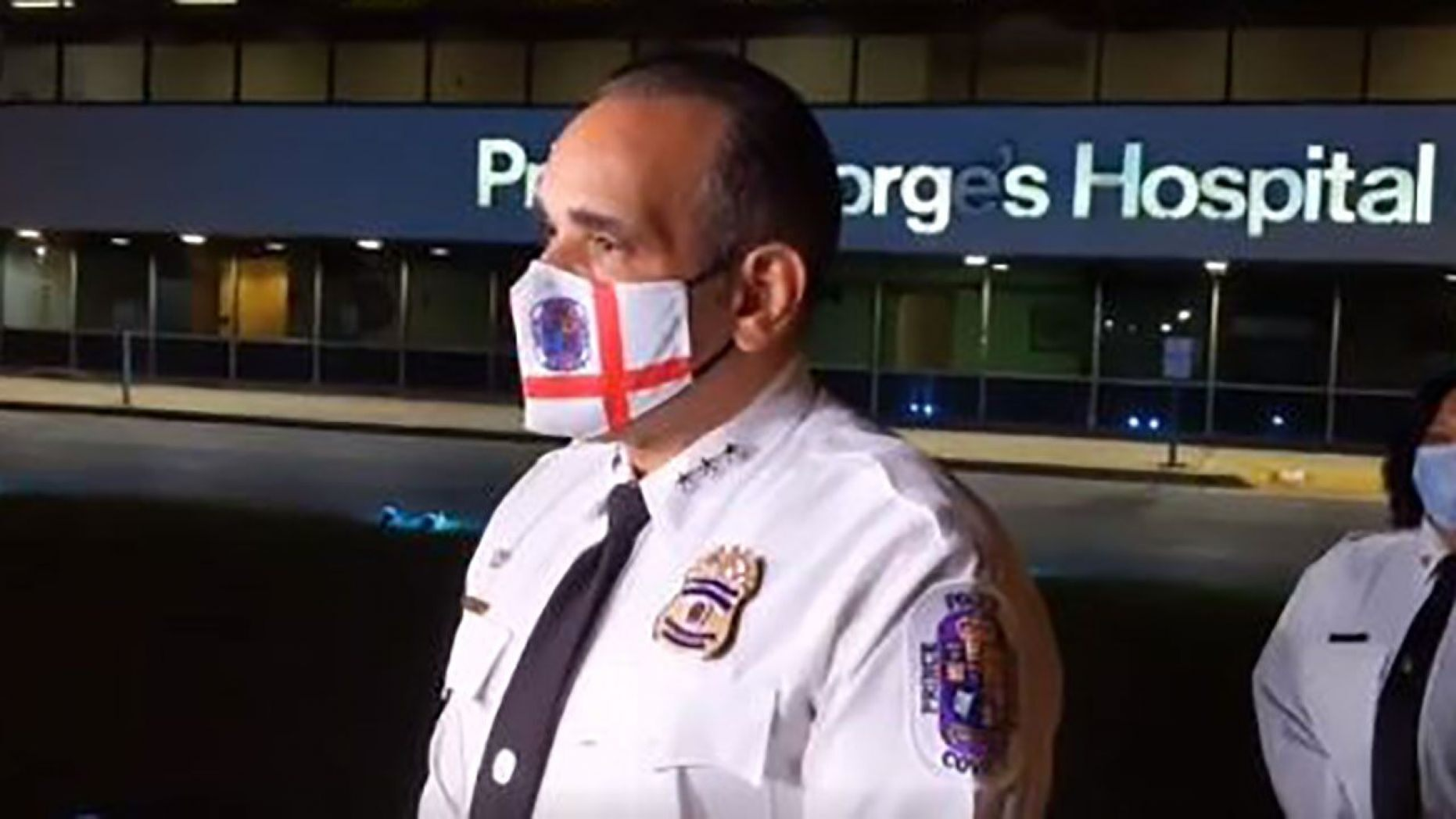 """Interim Police Chief Hector Velez said the three officers were in """"good spirits"""" and expected to be OK."""