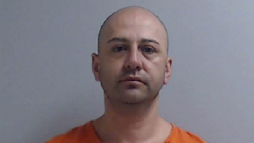 Mugshot for RIchard Ford, 40. (Hidalgo County Sheriff's Office )