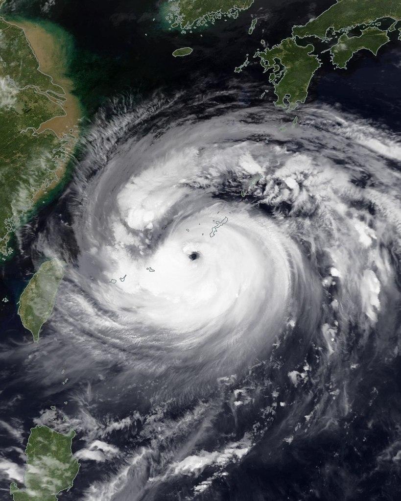 Typhoon Maysak (TheAustinMan/WikiCommons)