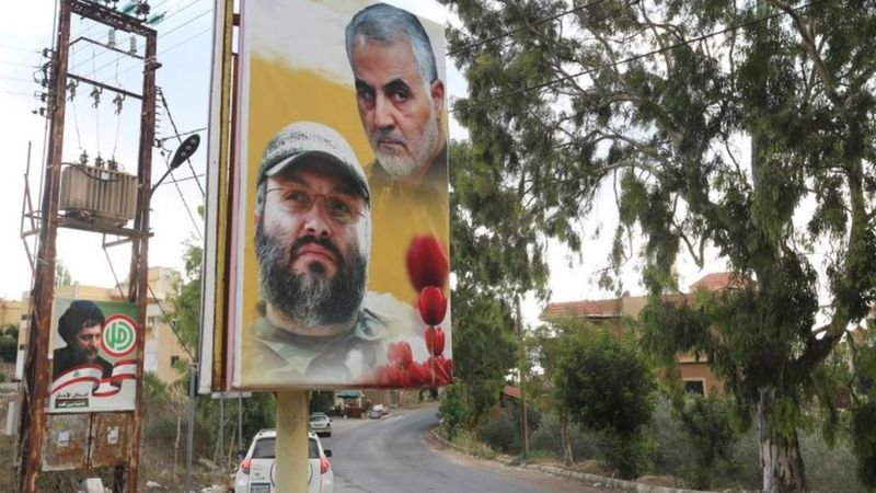 REUTERS The south of Lebanon is a stronghold of Hezbollah.