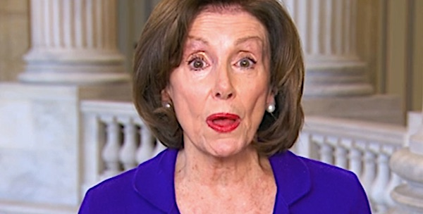 U.S. House Speaker Nancy Pelosi, D-Calif. (CNN video screenshot)